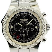 Breitling Bentley GMT Stahl Schwarz