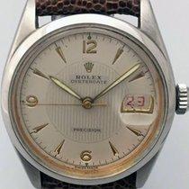 Rolex Oyster Precision Acciaio 34mm Argento Arabo Italia, milano