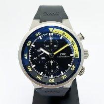 IWC Aquatimer Chronograph Titane 42mm Noir Sans chiffres France, Paris
