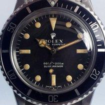 Rolex Submariner (No Date) Acél 40mm Fekete Számjegyek nélkül