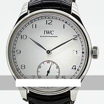 IWC Portuguese Hand-Wound Stål 43mm Silver Sverige, Stockholm