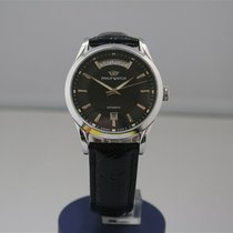 Philip Watch Sunray Steel 39mm Black No numerals