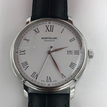 Montblanc 112609 Steel 2021 Tradition 40mm new