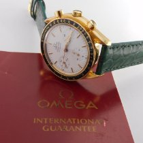 Omega 175.0032 Yellow gold 1989 Speedmaster Reduced 39mm pre-owned