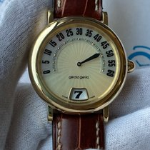 Gérald Genta Gerald Genta Retro Jumping Hour Yellow Gold 36mm G.3634 2002 pre-owned