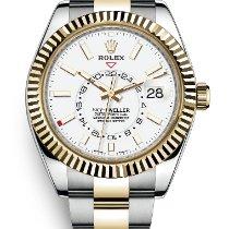 Rolex 326933 Gold/Stahl 2020 Sky-Dweller 42mm neu