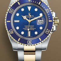Rolex Submariner Date Gold/Steel 40mm Blue No numerals United States of America, New York, Brooklyn