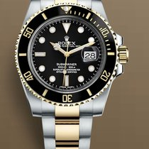 Rolex Submariner Date Gold/Steel 40mm Black No numerals United States of America, New York, Brooklyn