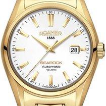 Roamer Searock nuevo Automático Reloj con estuche y documentos originales