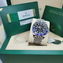 Rolex GMT-Master II Steel 40mm Black No numerals United States of America, Delaware, Middletown