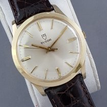Tudor 7004 Yellow gold 1975 35mm pre-owned