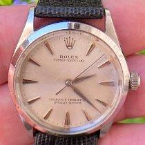 Rolex Oyster Perpetual 34 Acier 34mm Argent Sans chiffres