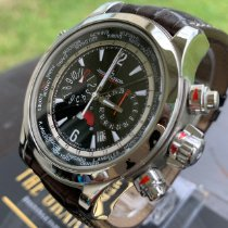 Jaeger-LeCoultre Master Compressor Extreme World Chronograph pre-owned 46.3mm Black Chronograph Date GMT