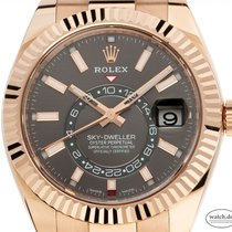 Rolex Sky-Dweller Rose gold 42mm Grey