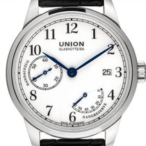 Union Glashütte 1893 Steel 41mm White Arabic numerals