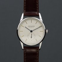 NOMOS Orion 33 Steel 33mm White