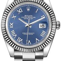Rolex новые Автоподзавод Винтовой фиксатор головки 41mm Сталь Сапфировое стекло
