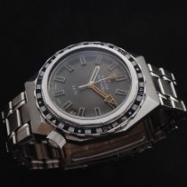 Zenith Steel Automatic Grey 38mm pre-owned Defy