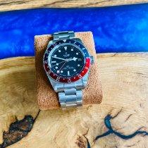 Tudor Black Bay GMT Stahl 41mm Schwarz Keine Ziffern Deutschland, Haibach