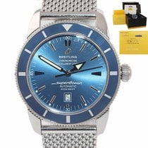 Breitling Superocean Héritage 46 Steel 46mm Blue United States of America, New York, Huntington