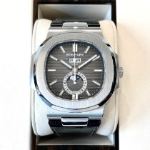 Patek Philippe Nautilus Steel 40.5mm Black No numerals