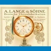 A. Lange & Söhne Gelbgold Handaufzug A. Lange & Söhne Viertelrepetition 750 18K Gold Taschenuhr 1900 Stammbuchauszug gebraucht Deutschland, Bayern - Schwabach