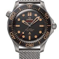 Omega Seamaster Diver 300 M Titan 42mm Braun Keine Ziffern