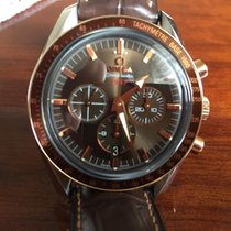 Omega yeni Otomatik Arka kapağı transparan Küçük saniye Parlayan sayılar Parlayan gösterge Kronometre 42mm Altın/Çelik Safir cam