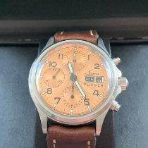 Sinn 356 Steel 38.5mm Bronze Arabic numerals