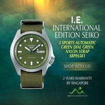 Seiko Steel Automatic No numerals new 5 Sports