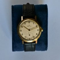 Zenith Stellina Yellow gold 38mm Champagne Arabic numerals