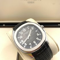 Patek Philippe Aquanaut Steel 40mm Black Arabic numerals