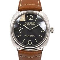Panerai Radiomir Black Seal PAM 00183 Very good Steel 45mm Manual winding