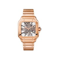Cartier Santos (submodel) neu 2020 Handaufzug Uhr mit Original-Box und Original-Papieren WHSA0016