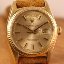 Rolex Geelgoud Automatisch Goud Geen cijfers 36mm tweedehands Day-Date 36