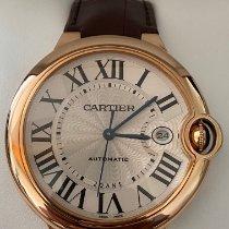 Cartier Ballon Bleu 42mm Roségold 42mm Silber Römisch