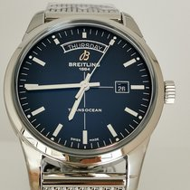 Breitling Transocean Day & Date A4531012/BB69/154A new