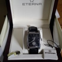 Eterna Madison Steel 35mm Black No numerals