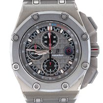 Audemars Piguet Titan Automatik Grau 44mm neu Royal Oak Offshore Chronograph