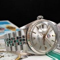 Rolex Datejust Staal 36mm Zilver Geen cijfers Nederland, Drachten
