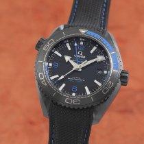 Omega Keramik Automatisk Svart 45.5mm begagnad Seamaster Planet Ocean