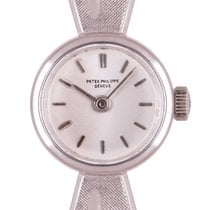 Patek Philippe Vintage White gold 15mm Silver United Kingdom, London