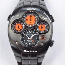 Seiko Sportura Titanium 42mm Orange