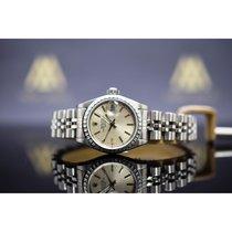 Rolex Oyster Perpetual Lady Date Zeljezo 26mm Srebro