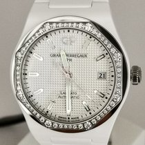 Girard Perregaux 81005D82A732-32A Ceramic Laureato 38mm new