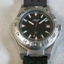 M&M Swiss Watch Acier 37,2mm Quartz 2.171.0.0.04 nouveau