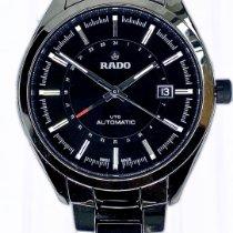 Rado HyperChrome Steel 42mm Black No numerals