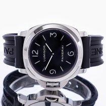 Panerai Luminor Base Steel 44mm Black Arabic numerals United Kingdom, Essex