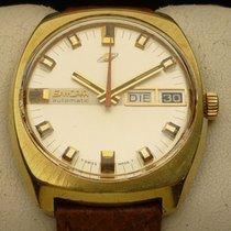 Enicar 35.8mm Remontage automatique Vintage Automatic Armbanduhr Enicar – Cal. AR 167 – Day Date occasion