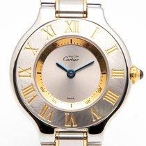 Cartier 21 Must de Cartier Acero y oro 28mm Plata Romanos España, Madrid